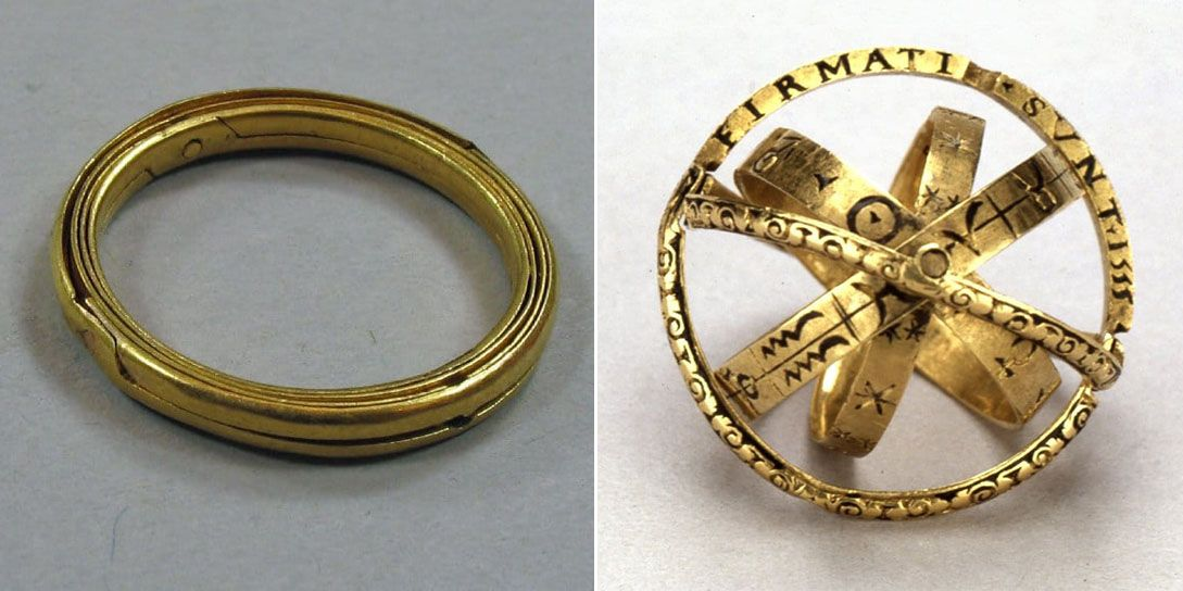 400YearOld Rings Transform Into Spheres Used For