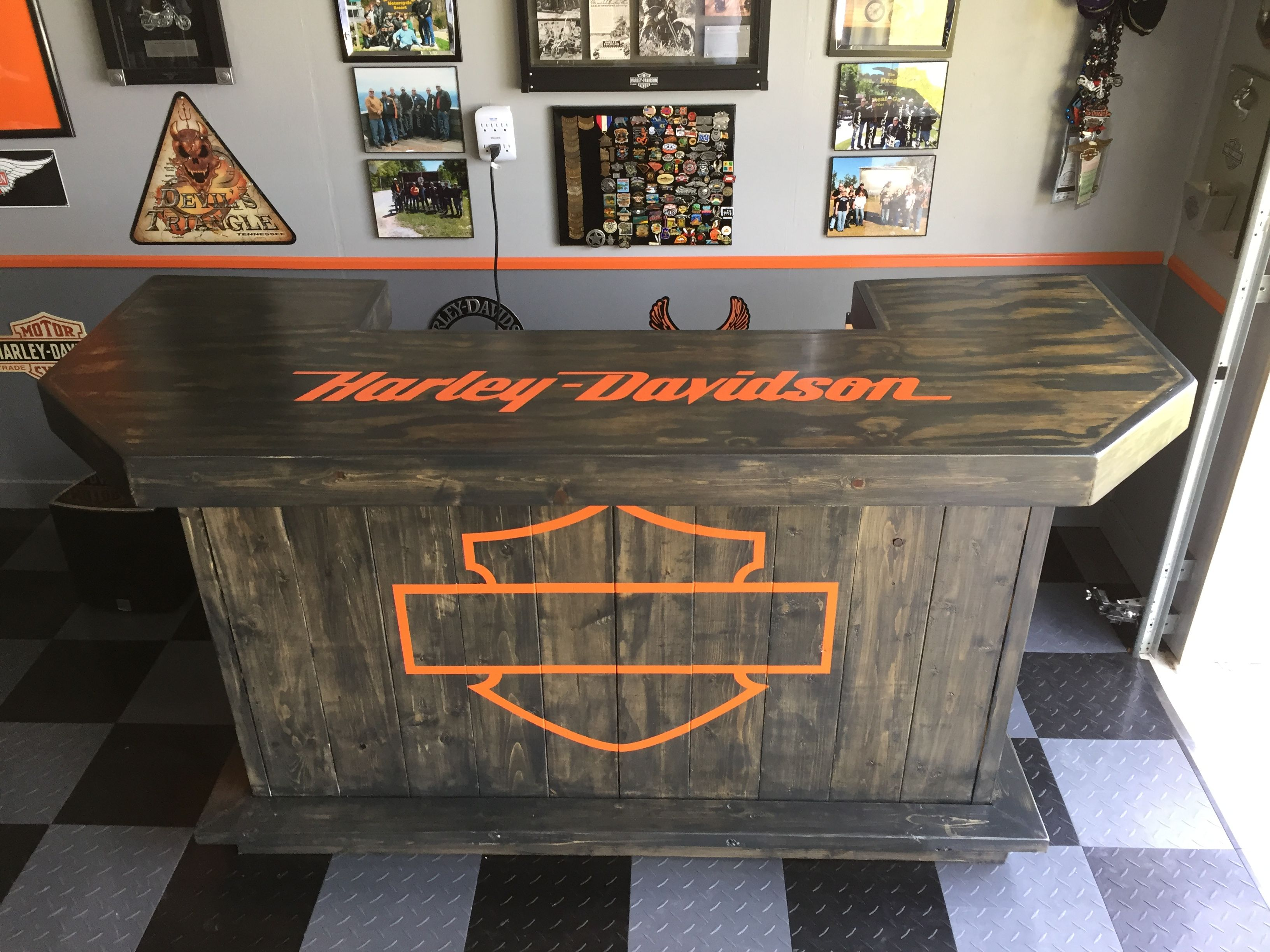 Harley Davidson Bar Harley Davidson Decor Man Cave Home Bar Bar Furniture