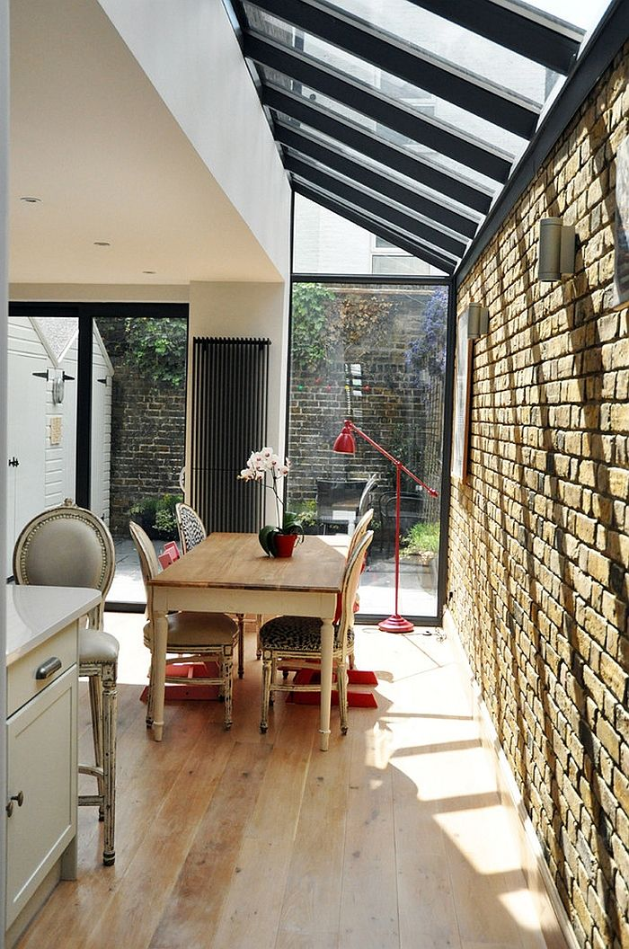 27 Dining Rooms With Skylights That Steal The Show Kitchen Extension House Siding House Extensions
