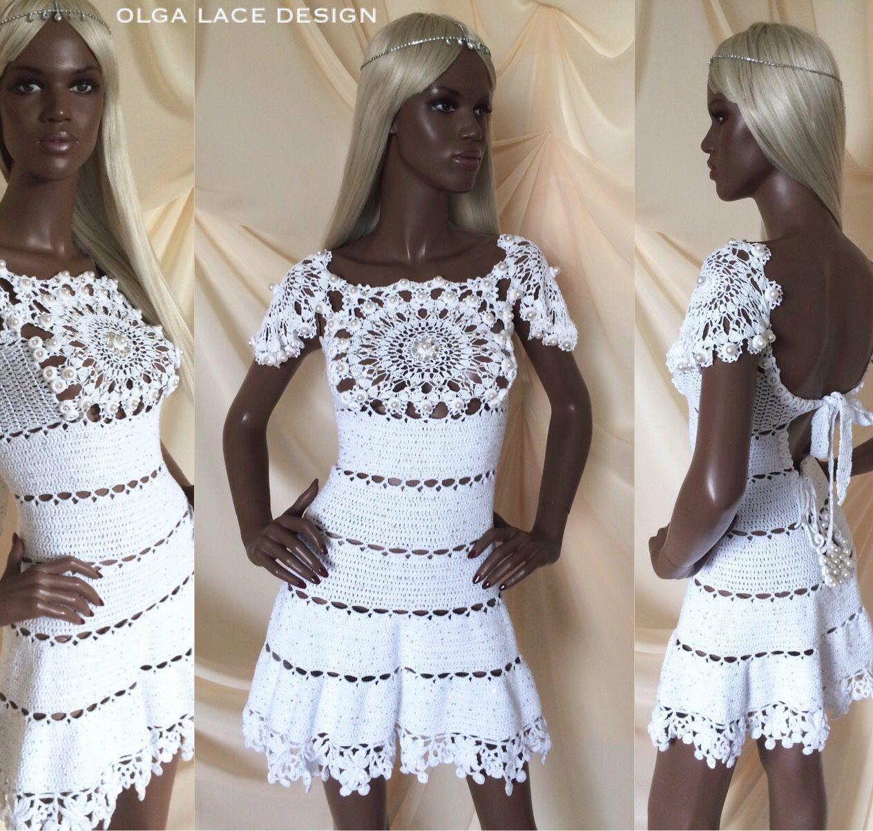 Вязание платье для принцесс