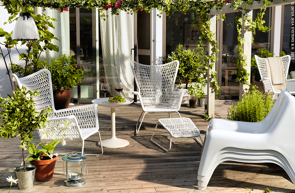 l 39 ap ro n 39 attend plus que vous fauteuil h gsten ikea jardin terrasse l 39 t pinterest. Black Bedroom Furniture Sets. Home Design Ideas