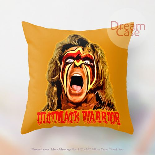 Wwe Smackdown The Legend Warrior Pillow Case  Note For  Inch