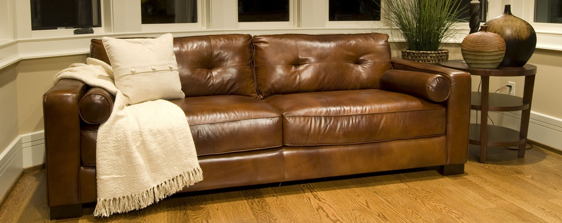 Soho Leather Sofa Elements Fine Home Furnishings New Home