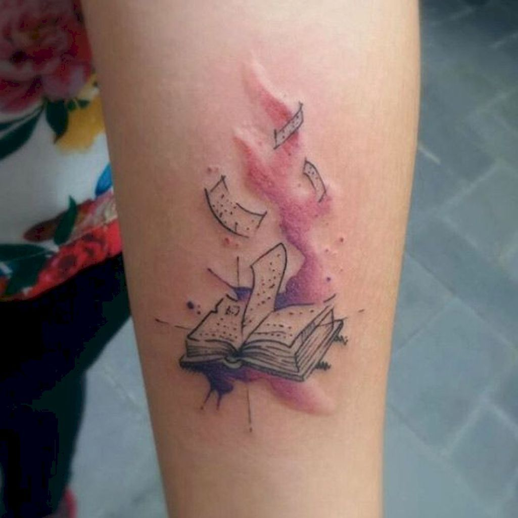 47 awesome book tattoo designs ideas for