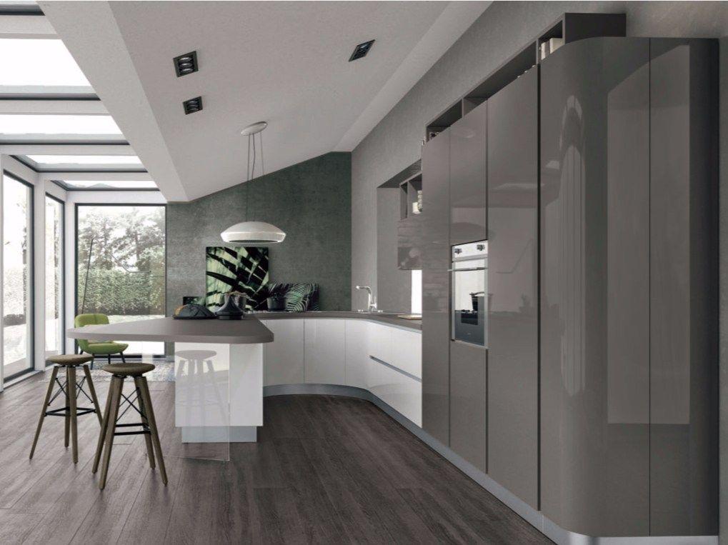 Clover 01 By Cucine Lube Interieur Moderne De Cuisine Meuble Cuisine Plan Cuisine