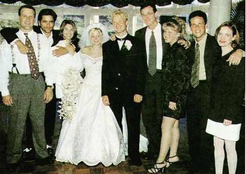 The Full House Cast At Candace Cameron S Wedding
