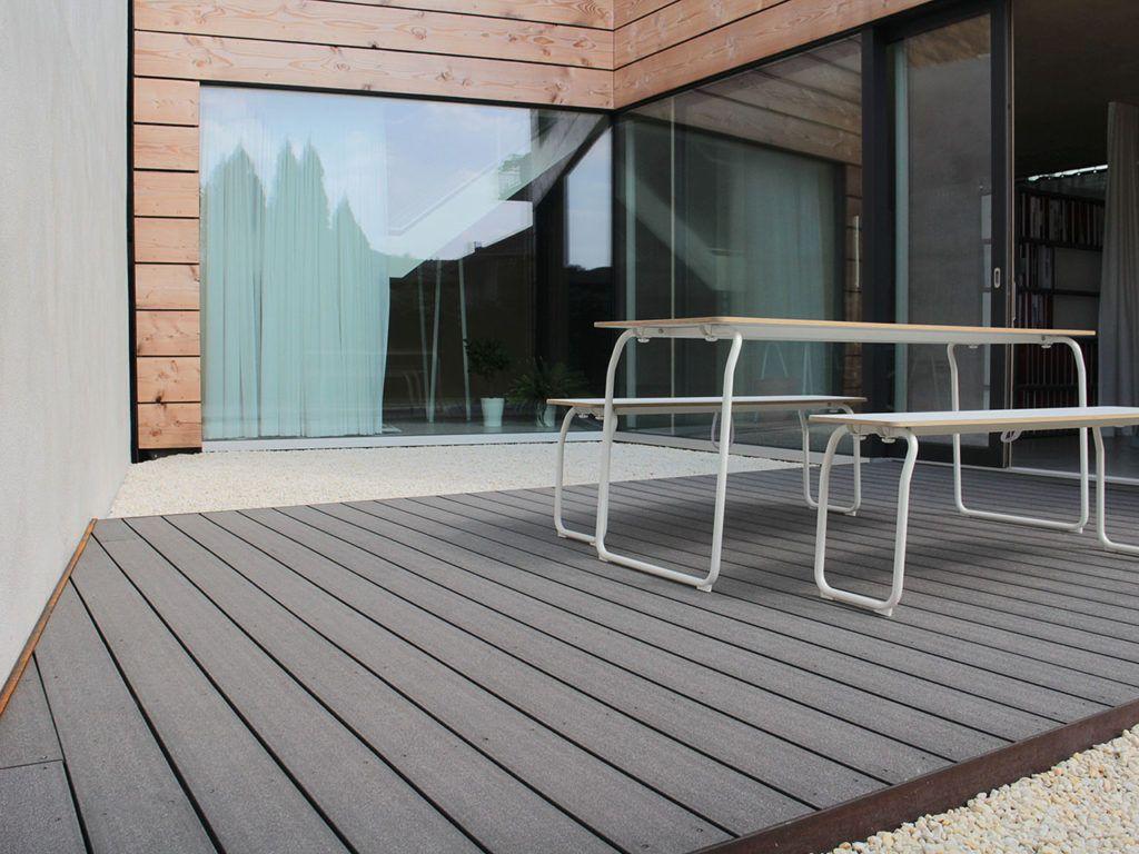 Die Optimale Verlegerichtung Auf Der Terrasse Terrassendielen Terrasse Terrasse Planen