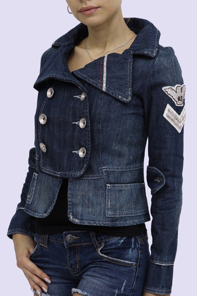 Military influenced denim jacket /www.trendsbazar.com/images/a/r/ArmaniJeans-JeanJacket-AJ-04240-01.jpg