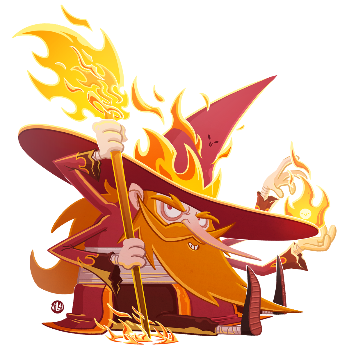 Elemental Wizards on Behance
