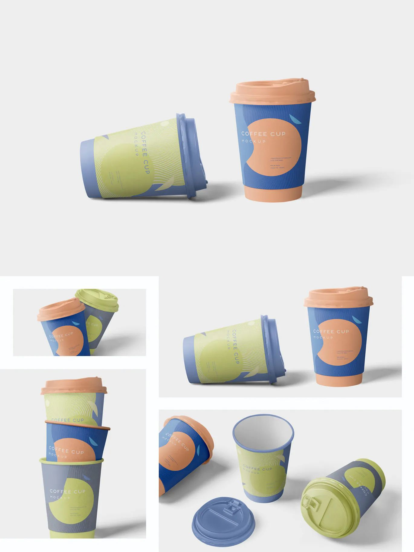 4 Awesome Coffee Cup Mockups by GfxFoundry on in 2020