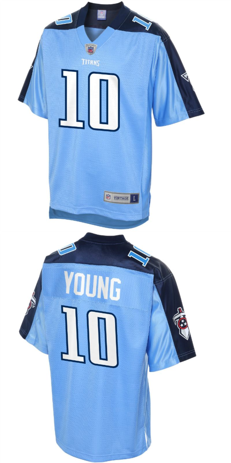 f8280a0d2 UP TO 70% OFF. Vince Young Tennessee Titans NFL Pro Line Retired ...