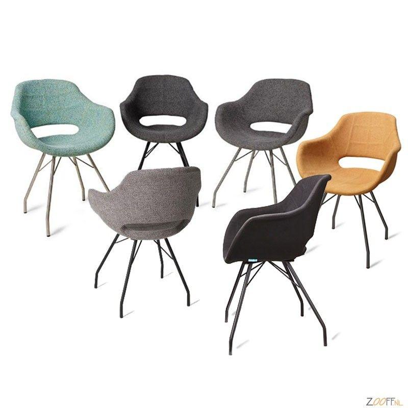 Eetkamerstoel bart chairs pouffe pinterest for Eetkamerstoel fauteuil