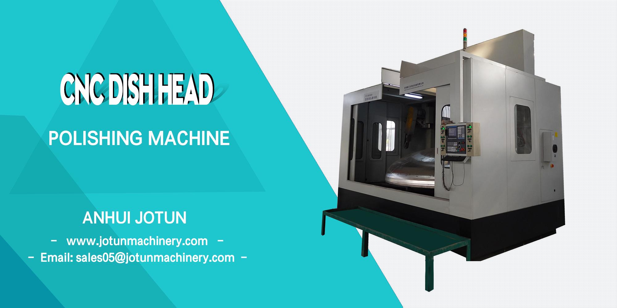 CNCdishheadpolishingmachine polisher grinding buffing