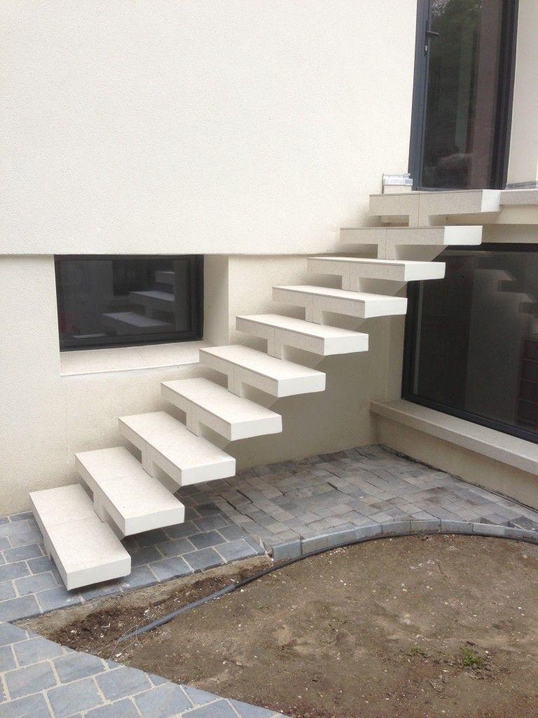 Creation D Escaliers Exterieurs En 2020 Escalier Exterieur