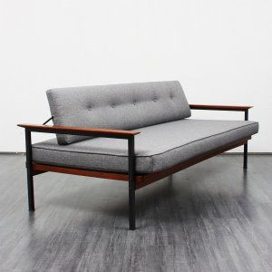 sofas super straightlined 1960s daybed no 5394 karlsruhe velvet point danish design. Black Bedroom Furniture Sets. Home Design Ideas