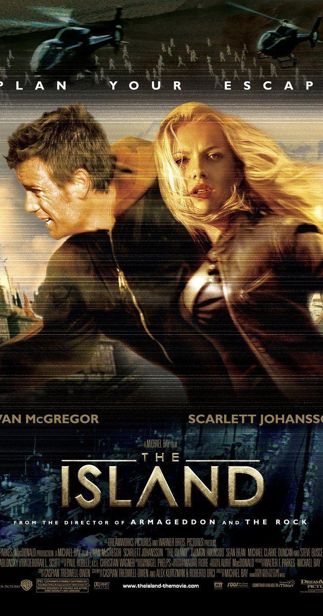 Directed By Michael Bay With Scarlett Johansson Ewan Mcgregor
