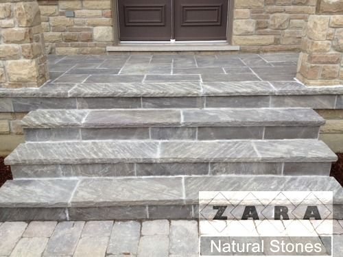 Imperial Black Flagstone Pavers square cut flagstone imperial