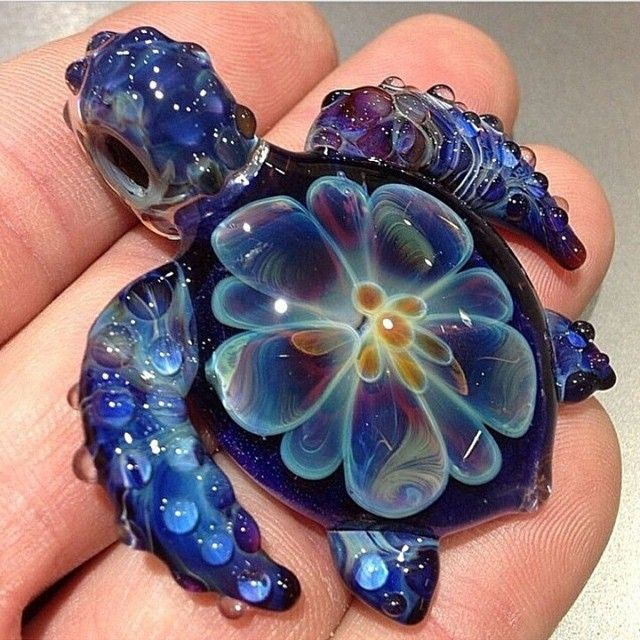 Cute sea turtle glass pendant by paulietwofingers also for Baby jewelry near me