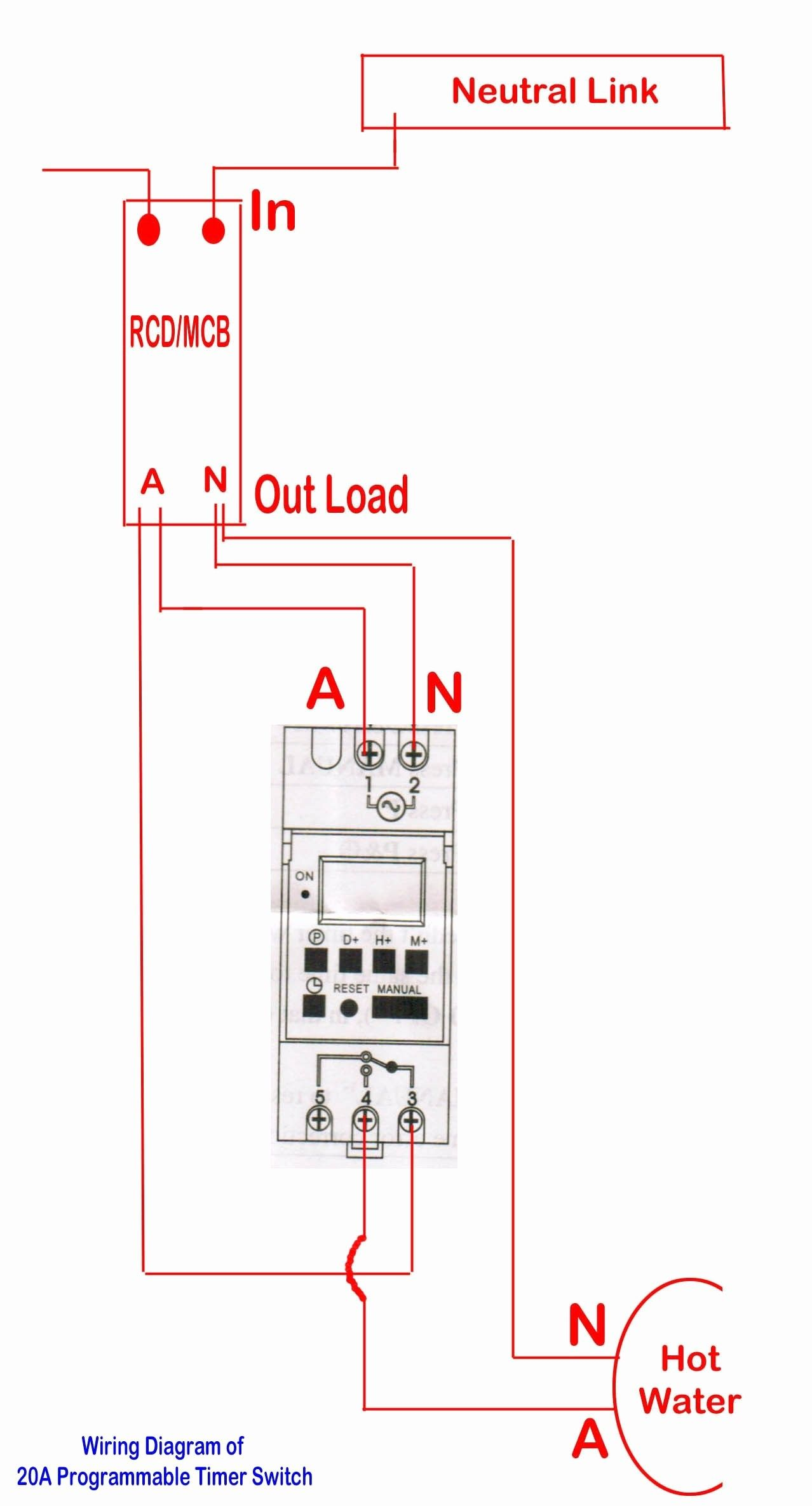 240 Single Phase With Neutral Wiring Diagram