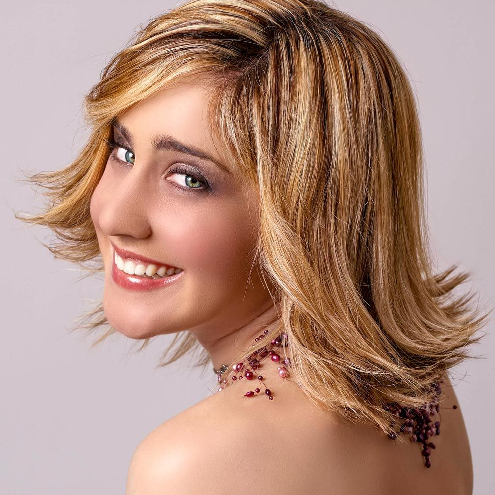 Stufiger Long Bob  Bob Frisuren lang - Long Bob - Langer Bob
