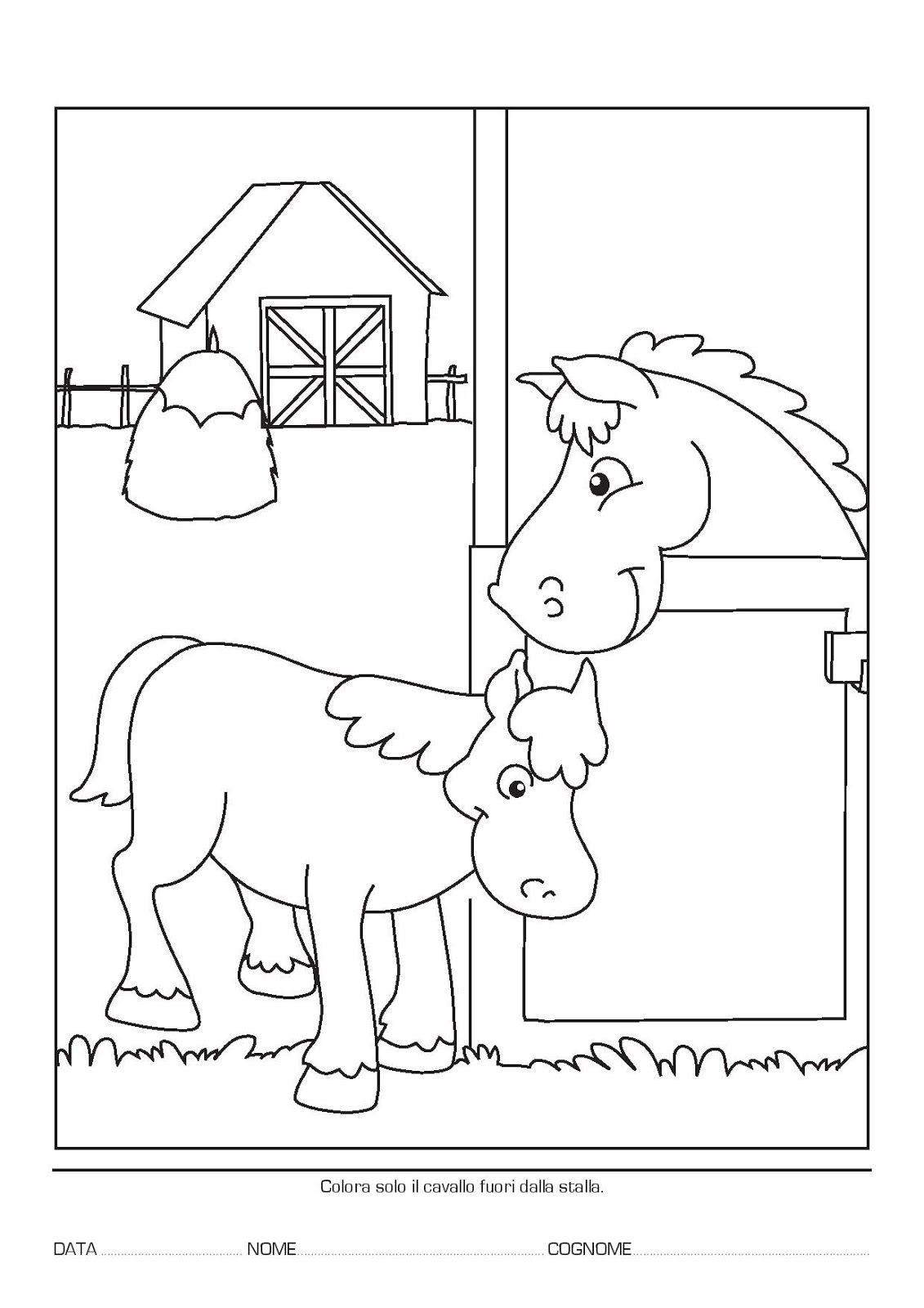 Copy Of Scuola Dellinfanzia Gli Animali Della Fattoria Lessons