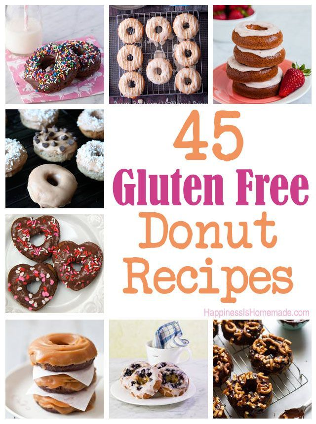 45 Delicious Gluten Free Donut Recipes There Are So Many