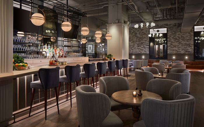 The Bar At Hotel Zachary Restaurant Bar Design Awards In 2020