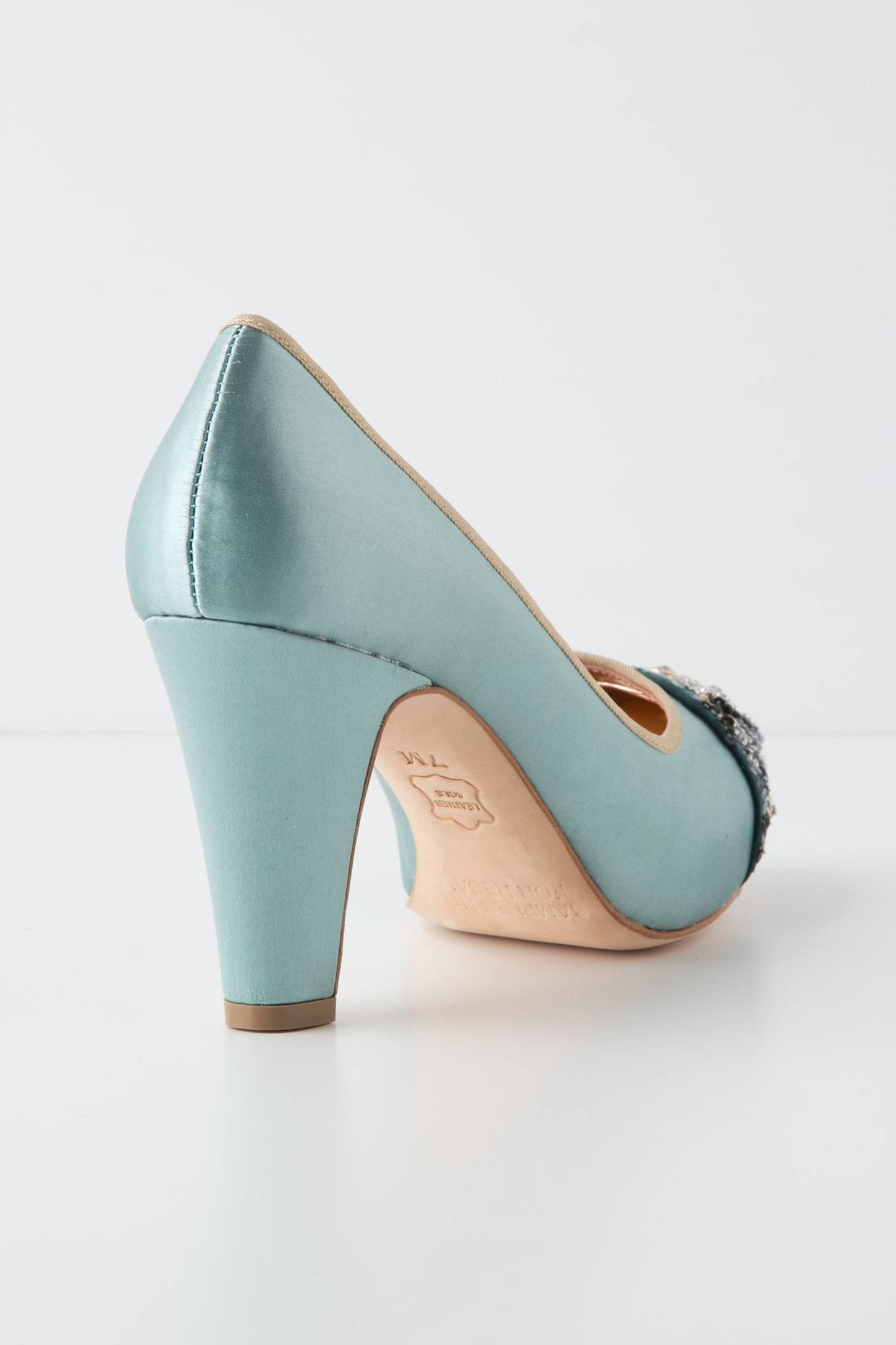 Bijou Toecap Pumps - anthropologie.com