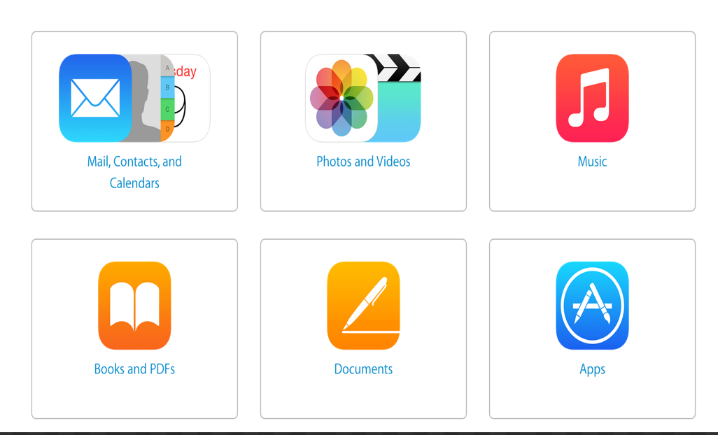 Apple's StepByStep Guide on How to Move Content from