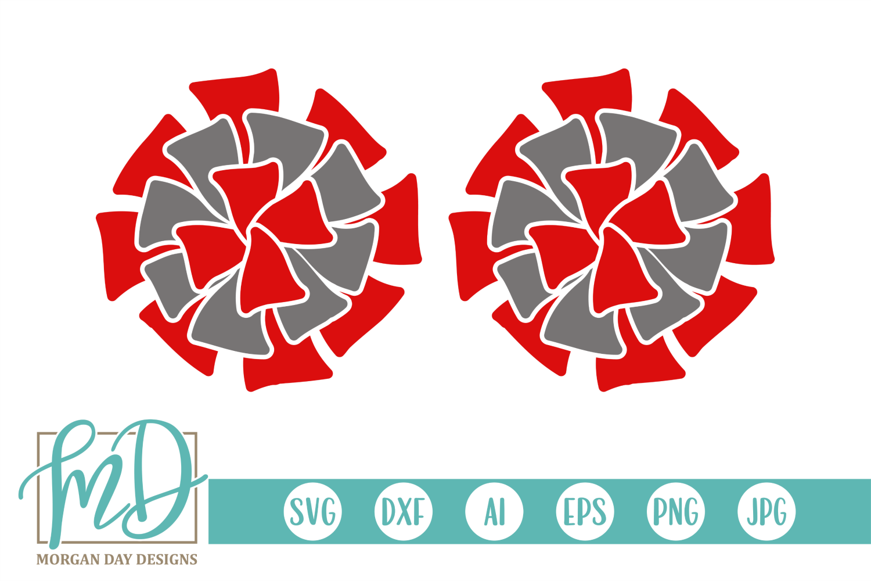 Pom Pom Svg Clipart Team Colors Pompom Svg Png Etsy In 2021 Cheer Pom Poms Cheerleading Crafts Digital Clip Art