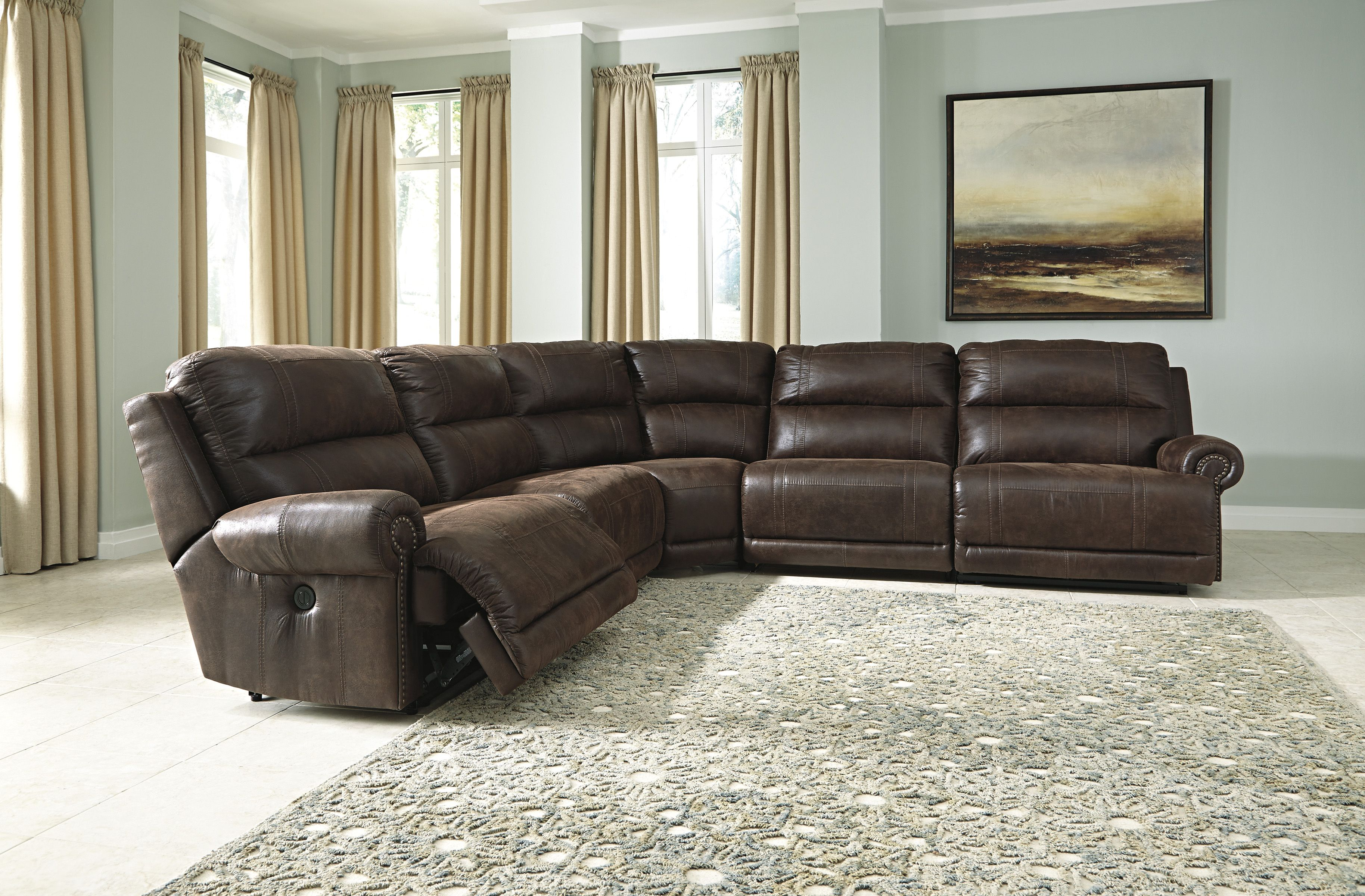 Benchcraft 931 Reclining Sectional Power Reclining Sectional Sofa Sectional Sofa Couch