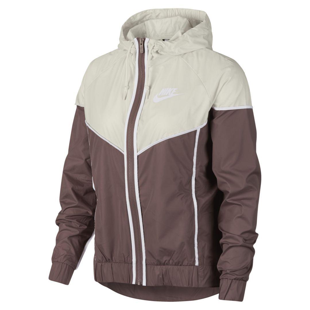 2cf809f0171b Nike Sportswear Windrunner Women s Jacket Size S (Smokey Mauve)