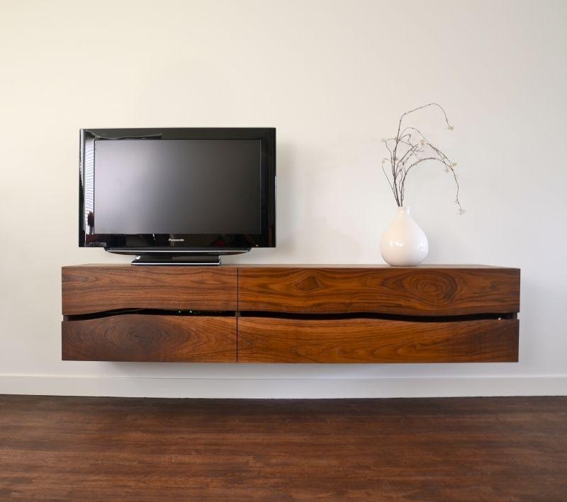 Bruin Houten Tv Meubel.Afbeeldingsresultaat Voor Houten Tv Meubel Zwevend Home Decor Tv