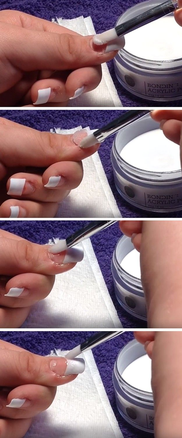 Acrylic Application Diy Acrylic Nails Diy Acrylic Nails Acrylic Nails At Home Diy Nail Designs