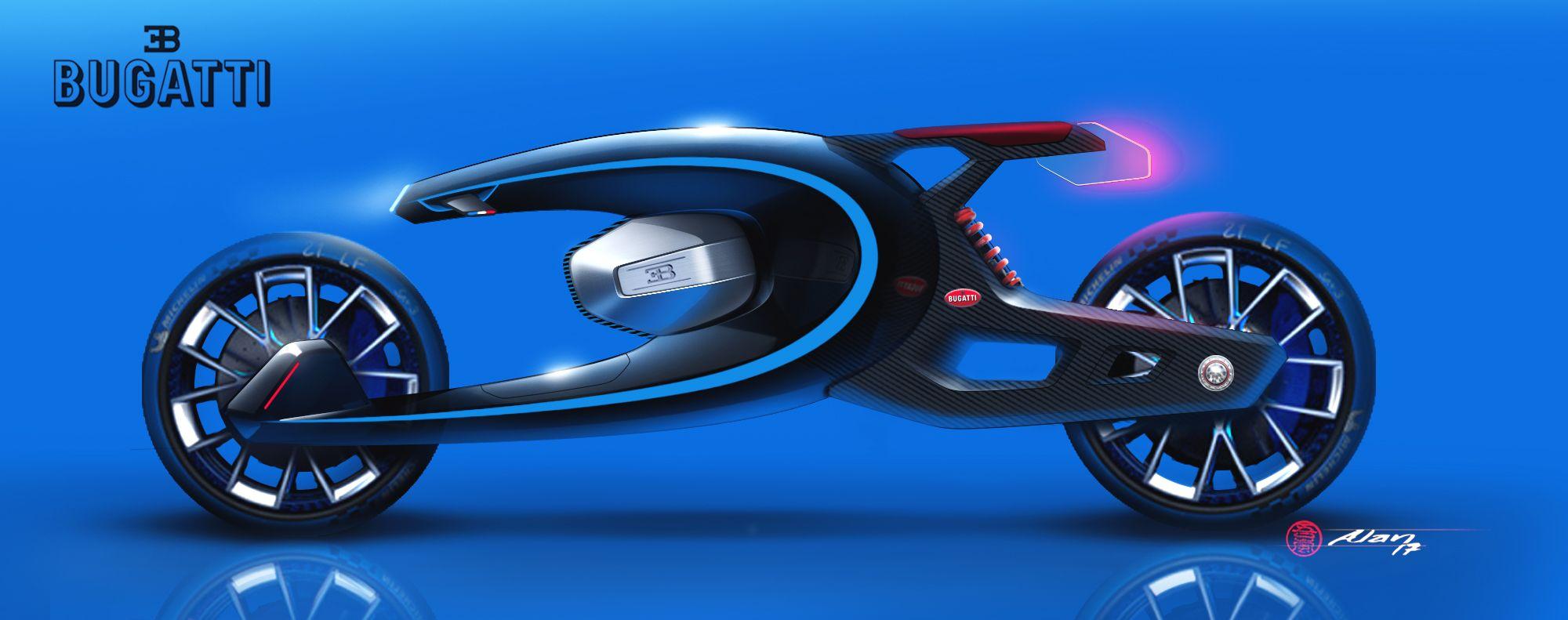 Alan Derosier Bugatti Bike Challenge Hot Sketches Pinterest