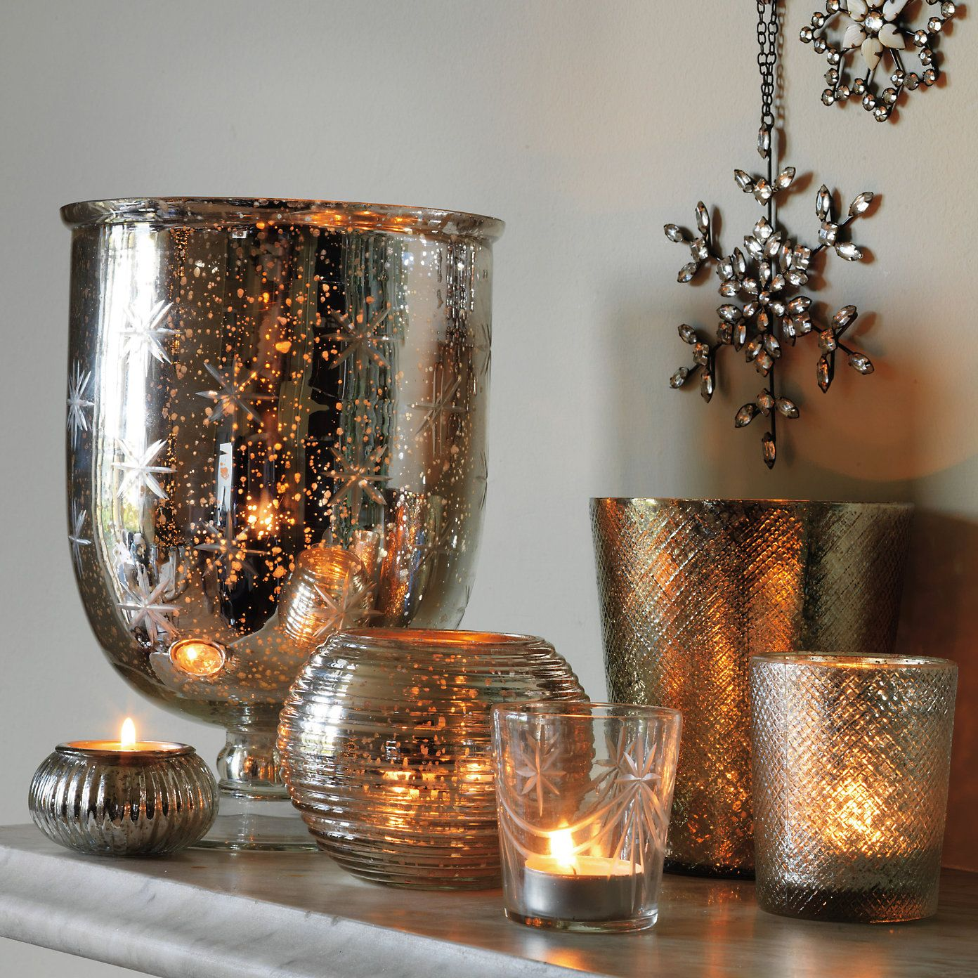Home Decor Candle Holders And Accessories: Buy Home Accessories > Candle Holders > Star Glass