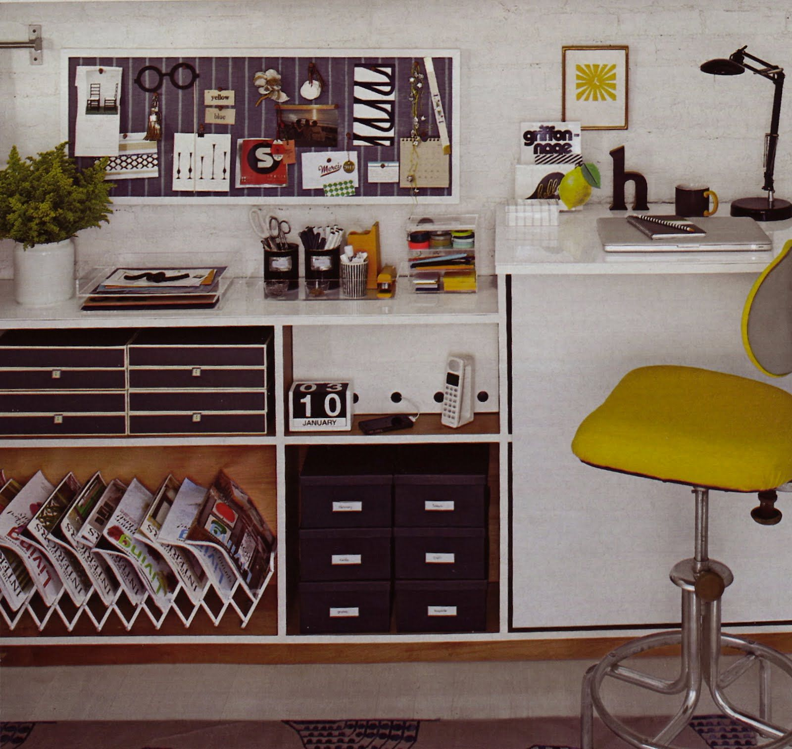 small home office organization ideas. Closet Office Design Ideas | Organization 1600x1514 Malka In The April 2012 Small Home I