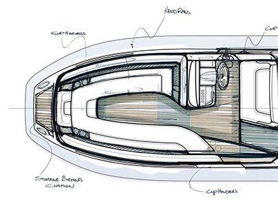 Yacht Tender Interior Design- Phase 1 | Barche e Progetti