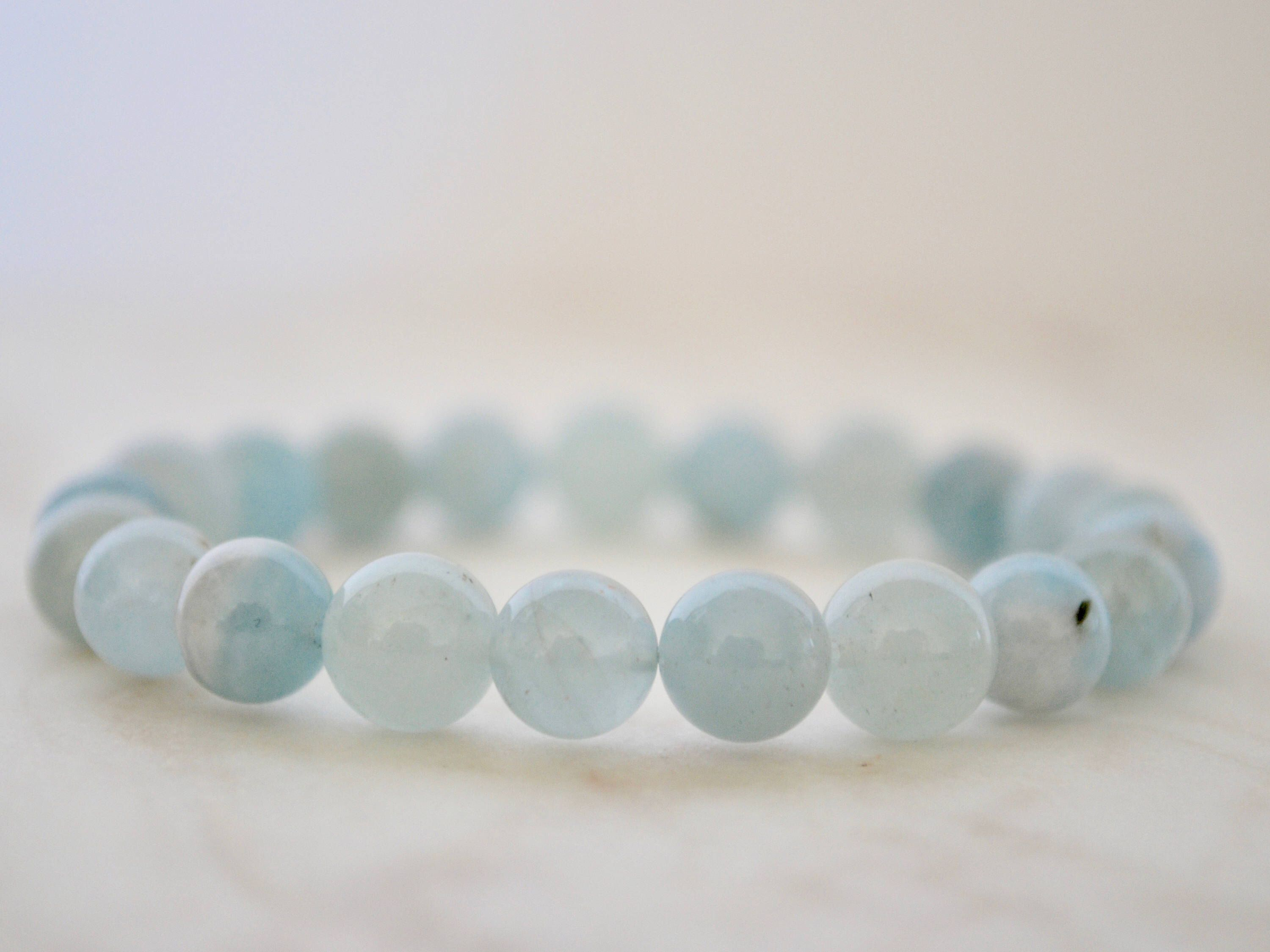 poppy by belle square bracelet march products birthstone aquamarine cropped