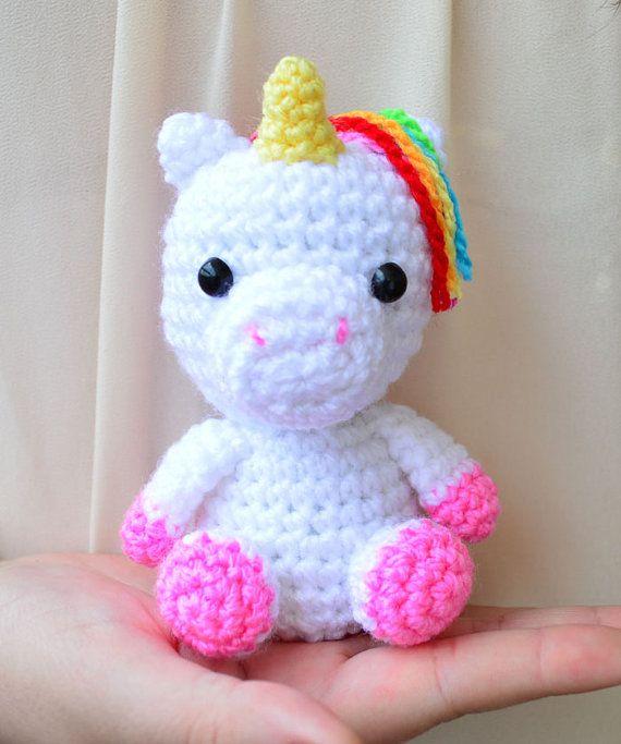 Amigurumi Unicornio Gru : Crochet pattern baby unicorn amigurumi by