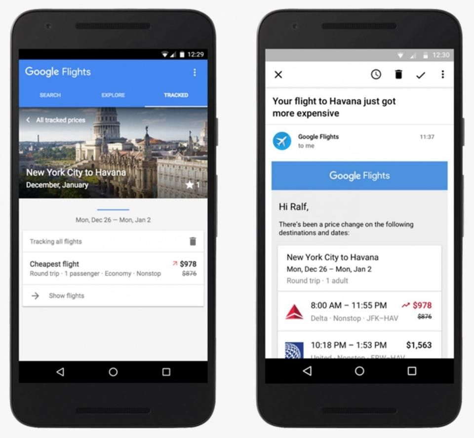Google Flights To Start Warning You When Prices Are Going To Increase