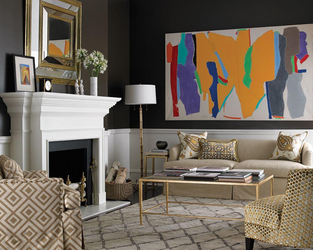 David Hicks   Contemporary living room, Sitting room ...