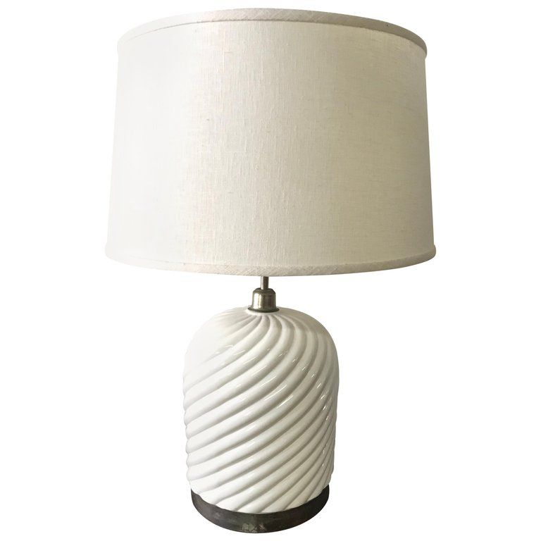 Tommaso Barbi Porcelain Ceramic And Chrome Table Lamp Table Lamp Ceramic Table Lamps Porcelain Ceramics