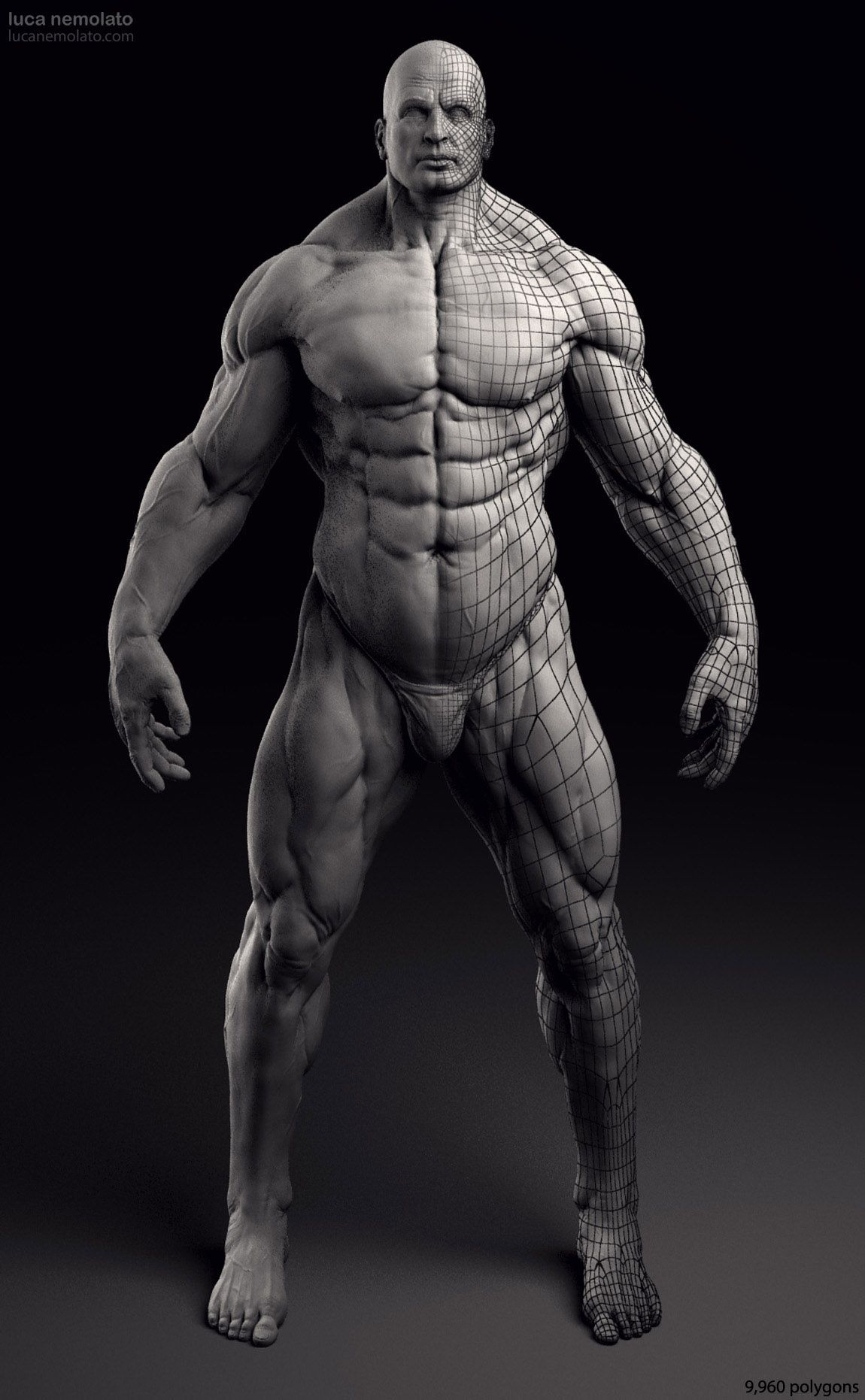 Extreme-Bodybuilder-3D-Model-3-personal-project.jpg (1150×1862 ...