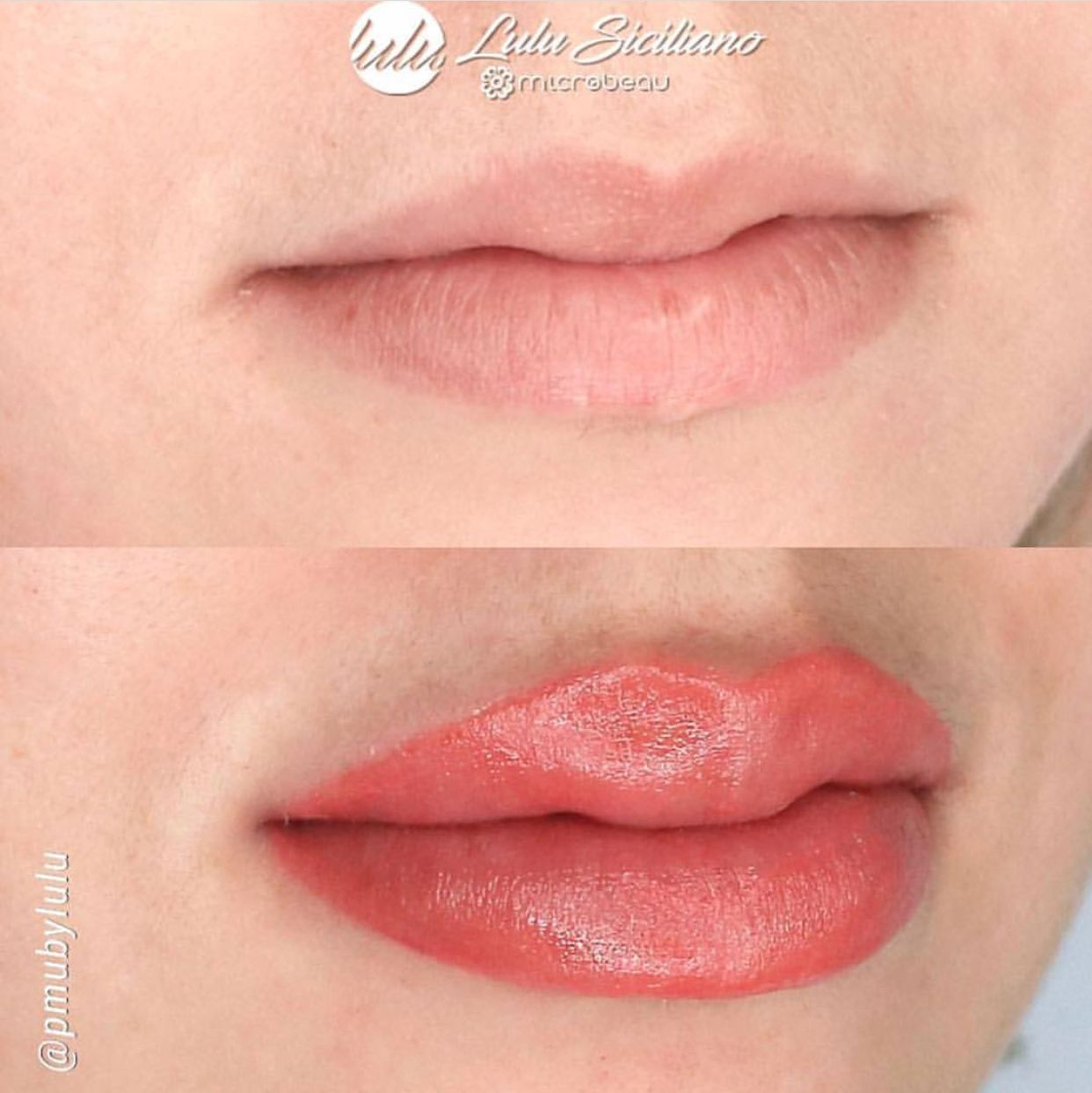 Acuarela lips done by microbeauelite artist pmubylulu