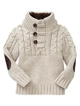 81e0c554797ee Love this chunky cable knit pullover sweater with elbow patches| Gap ...