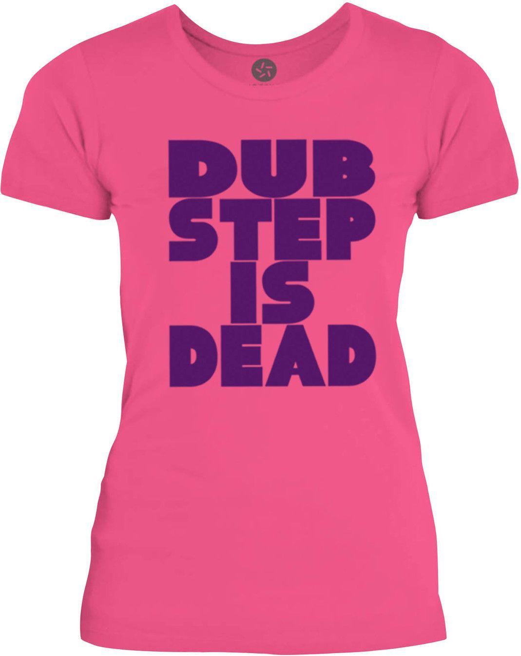 Big Texas Dub Step is Dead (Purple) Womens Fine Jersey T-Shirt