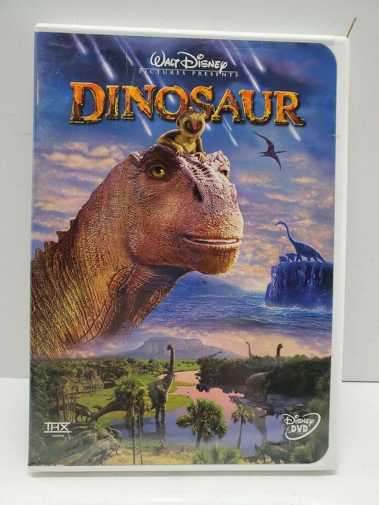 Walt Disney Dinosaur Dvd Kids Movie 2001 Disney In 2020 Dinosaur Dvd Disney Dinosaur Kid Movies