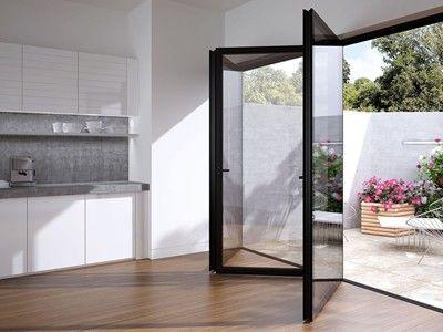 SL75 Lumi Flushed Glazed Bifold Sliding Doors | Slimline Glazing ...