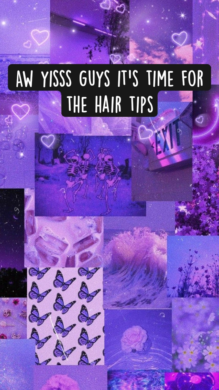 Aw yisss guys it's time for the hair tips